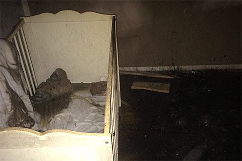 Brand Klagenfurt Gitterbett Wohnung St Peter