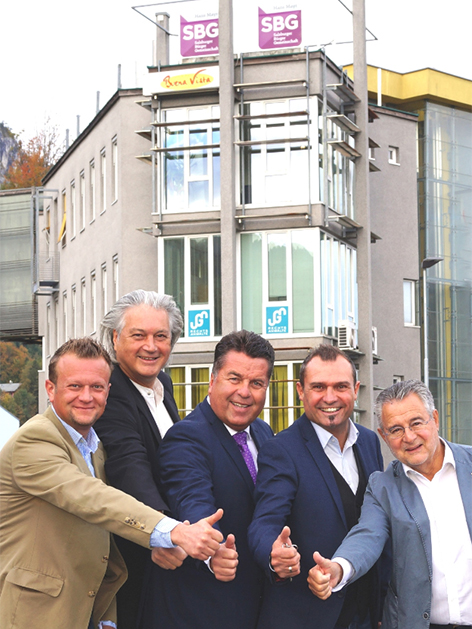 Salzburger Bürger Gemeinschaft eröffnet Parteizentrale