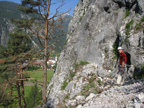 Klettersteig Nassereith : Klettersteig nassereith leite radio tirol