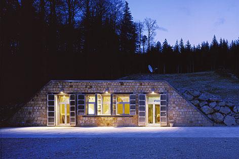 Conrad Observatorium Eingang Pernitz ZAMG Erdmagnetfeldmessung