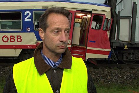 Christopher Seif ÖBB Sprecher Interview Zugsunfall Wieselburg
