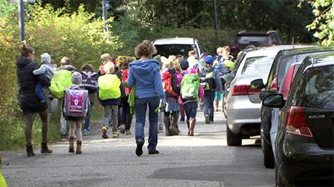 Verkehrschaos in der Früh vor Salzburgs Schulen