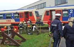 Wieselburg Zugsunfall