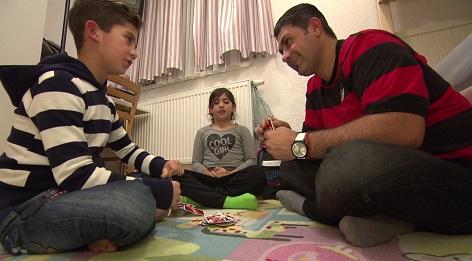 Flüchtlingsfamilie im steirischen Kumberg