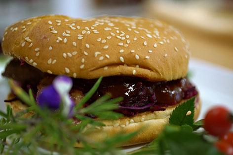 Hagebutten-Burger