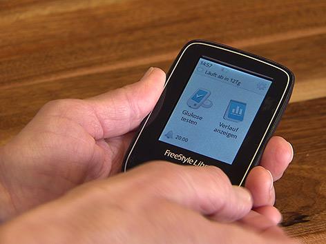 Blutzuckermessgerät GKK Diabetes