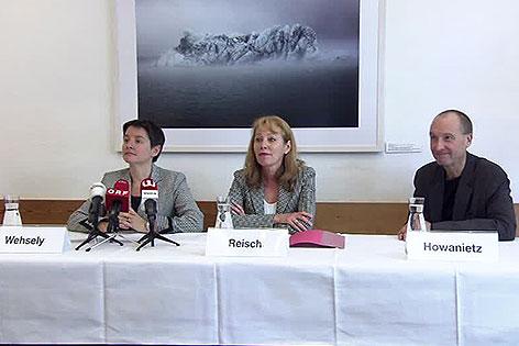 Sonja Wehsely, Ingrid Reischl, Helmuth Howanietz