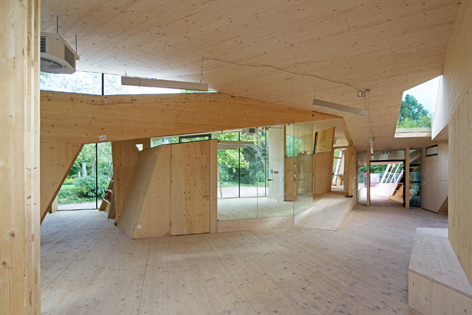 bilding Holzgebäude