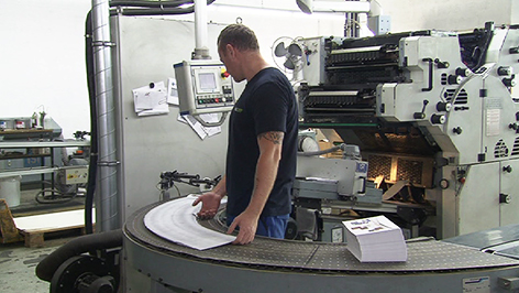 ÖKI-Produktionshalle in Hirm