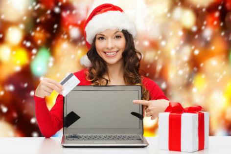Einkaufen mit dem Weihnachtsgeld