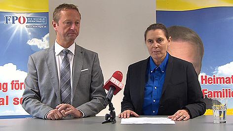 Neue FPÖ Landesgeschäftsführerin Wagner