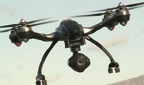 Drohne Drohnenflug Flugdrohne
