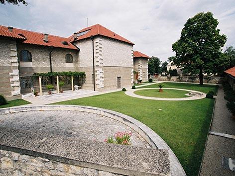 Carnuntum Museum Garten
