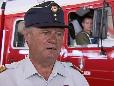 Ex-Landesfeuerwehrkommandant Josef Meschik