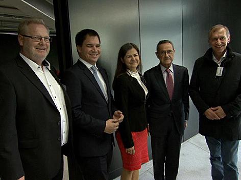 Steirische Delegation im Baskenland