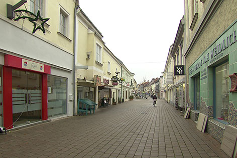 Bruck an der Leitha Im Blickpunkt Innenstadt