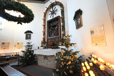 """Die """"Stille Nacht-Kapelle"""" in Oberndorf bei Salzburg"""