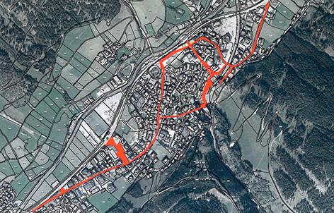 Skischuhverbot Zonenplan