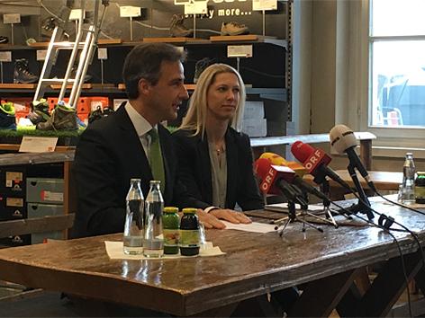 Siegfried Nagl und Marion Krainer
