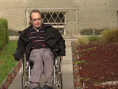 Jobs für Menschen mit Behinderung Daniel Gastl