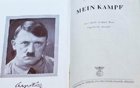 Adolf Hitler Mein Kampf Neukommentierung Nationalsozialismus