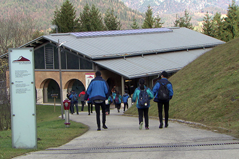 Dokumentationszentrum auf dem Obersalzberg bei Berchtesgaden