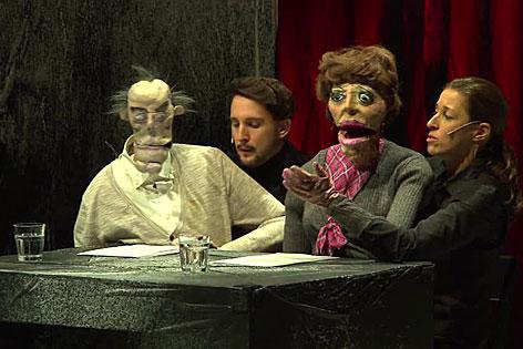 Puppenspiel gegen Hasspostings im Rabenhof-Theater