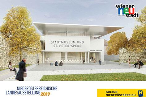 Visualisierung Neugestaltung Stadtmuseum