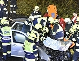 Unfall Villach St Niklas Frontaler