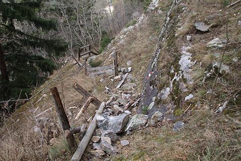 Klettersteig Fallbach : Felssturz: klettersteig bis frühjahr gesperrt kaernten.orf.at