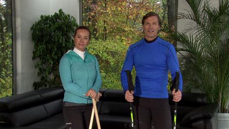 Doresia Krings und Michael Mayrhofer im ORF Wintergarten