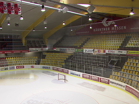 Eishallen Sanierung Fixiert