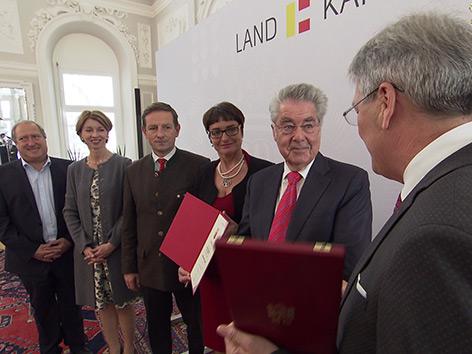 Heinz Fischer Orden und Europaeus