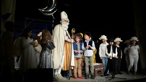 Nikolausfeier des Schulverein SOVA
