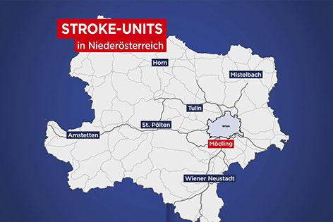 Stroke-Unit Karte