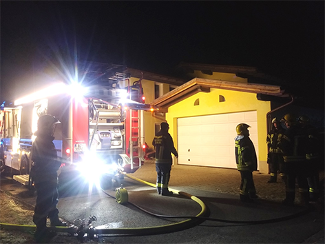Feuerwehr Schruns Zimmerbrand