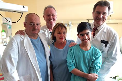 Badeunfall 13-jähriger Ärzte