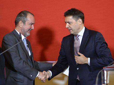 Thomas Drozda (l.) und Bogdan Roscic