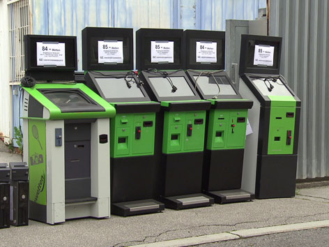 Spielautomaten-Friedhof