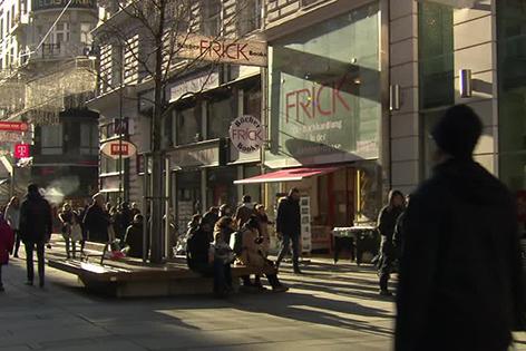 Frick schließt Buchhandlung in der Kärntner Straße