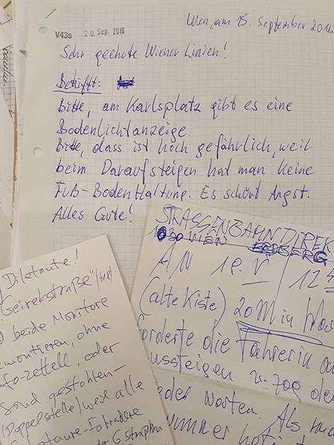 Fahrgäste Schreiben Briefe An Wiener Linien Wienorfat