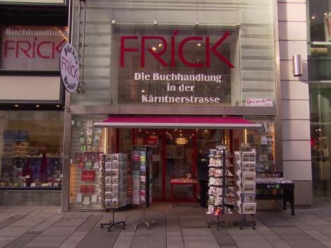 Die Buchhandlung Frick auf der Kärntner Straße schließt nach 28 Jahren