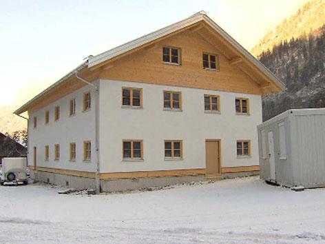Abriss Haus Klostertal