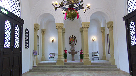 Kapelle im Schloss Rotenturm