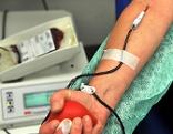 Blutspende Blut spenden