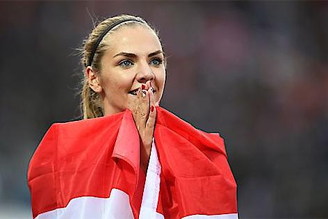 Ivona Dadic Leichtathletik EM Amsterdam