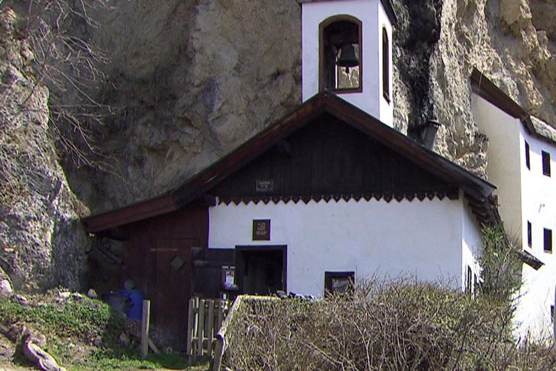 Die Einsiedelei am Palfen bei Saalfelden