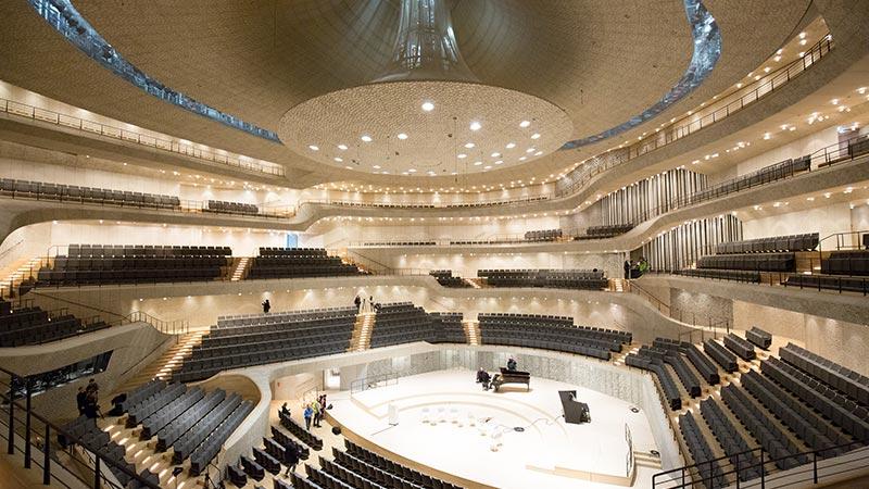 Elbphilharmonie Hamburg Haslinger Stahlbau