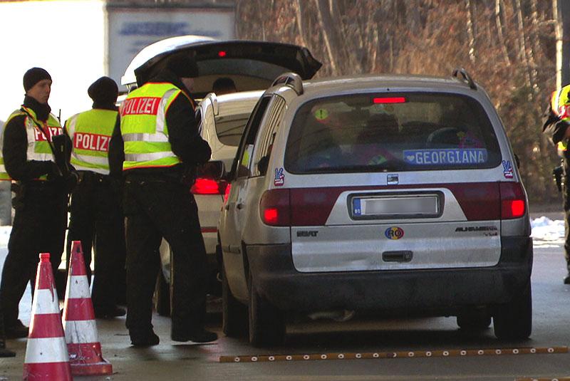 Bayern verstärkt Grenzkontrollen