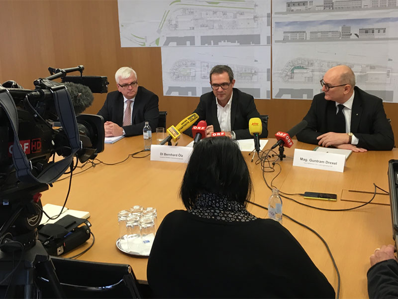 Prisma Seestadt Pressekonferenz